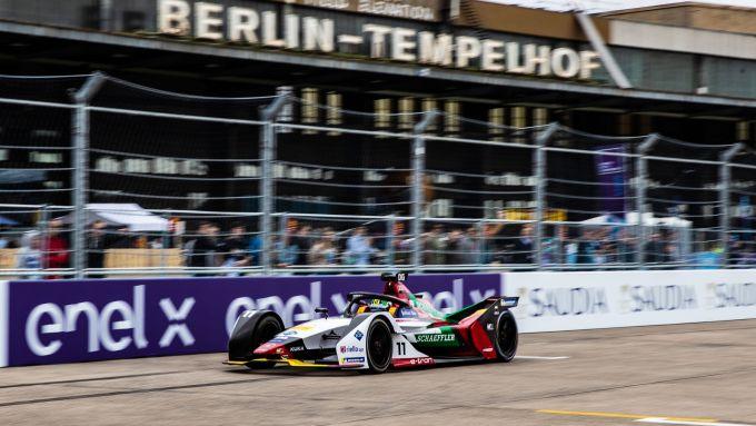 ePrix Berlino 2019, Lucas Di Grassi conduce la gara