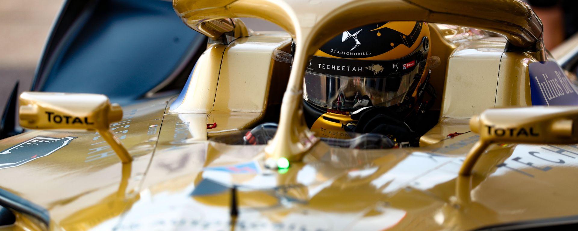 ePrix Monaco 2019, André Lotterer a bordo della sua Ds Techeetah