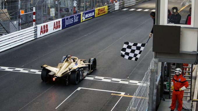 ePrix Monaco 2019, Vergne taglia il traguardo