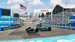 ePrix New York 2019, Mitch Evans chiude la gara al secondo posto
