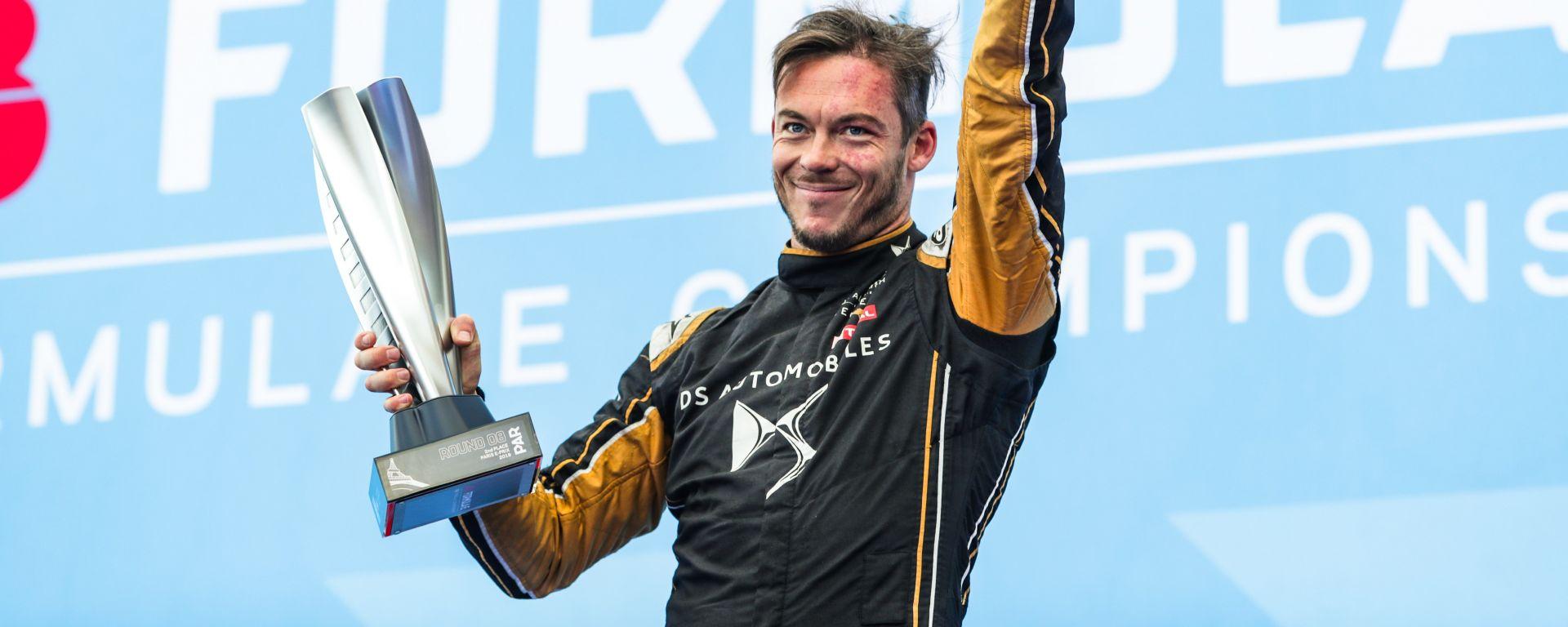 ePrix Parigi 2019, André Lotterer sul podio