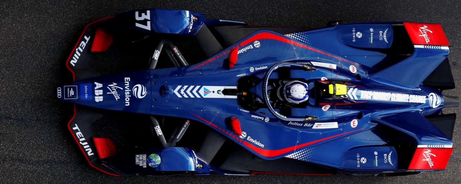 ePrix Roma-2, Nick Cassidy (Envision Virgin Racing) fa la prima pole in Formula E