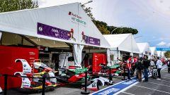 ePrix Roma 2019, il box del team Audi Sport Formula E
