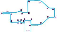 ePrix Roma 2019, il layout del circuito dell'Eur