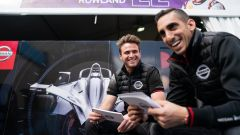 ePrix Roma 2019, Nissan e.dams: buona prova per Buemi e Rowland - Immagine: 2