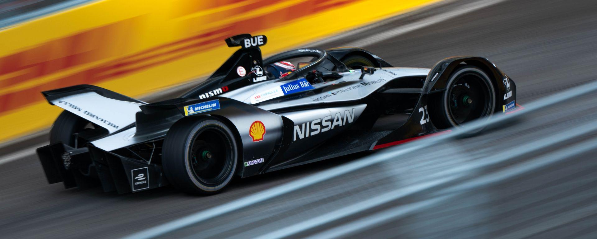 ePrix Roma 2019, Nissan e.dams: buona prova per Buemi e Rowland