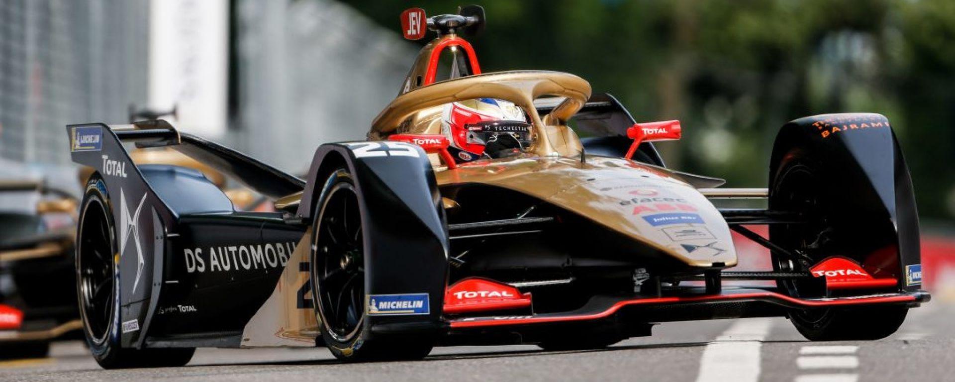 ePrix Svizzera 2019, Vergne al comando della gara