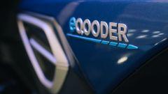 eQooder, il logo sulla fiancata
