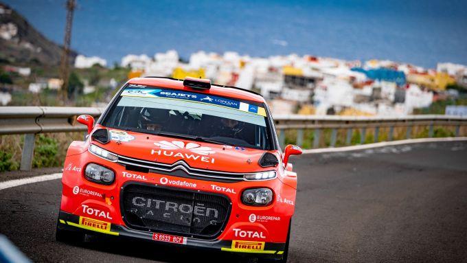 ERC, Rally Islas Canarias 2020: Pepe Lopez (Citroen C3 R5)