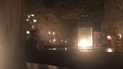 Eremito: la cena, a lume di candela, è in rigoroso silenzio