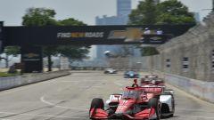 Detroit, Gara 1: primo centro di Ericsson