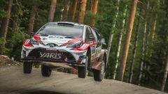 Esapekka Lappi vola nel Rally di Finlandia 2017