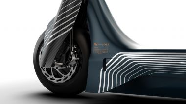 Eskootr S1-X due motori elettrici, uno per ruota, a dare la trazione integrale