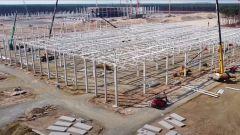 esla Gigafactory a Berlino: i lavori di costruzione in Germania