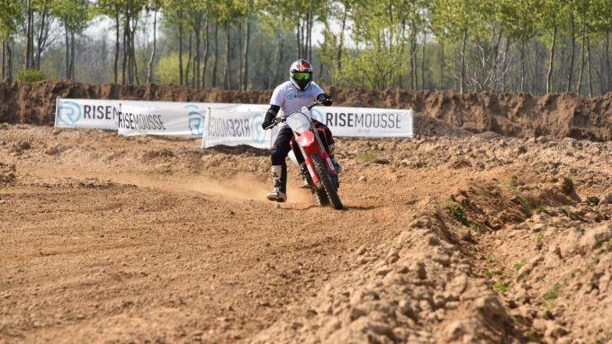Motocross brucia grassi