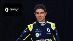 Esteban Ocon pilota Renault 2020