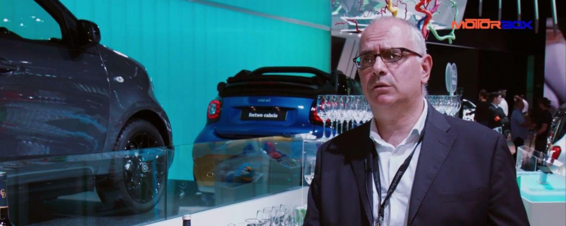 Eugenio Blasetti, Press Relations Manager Mercedes-Benz Italia