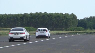 Euro NCAP: i test su BMW serie 3