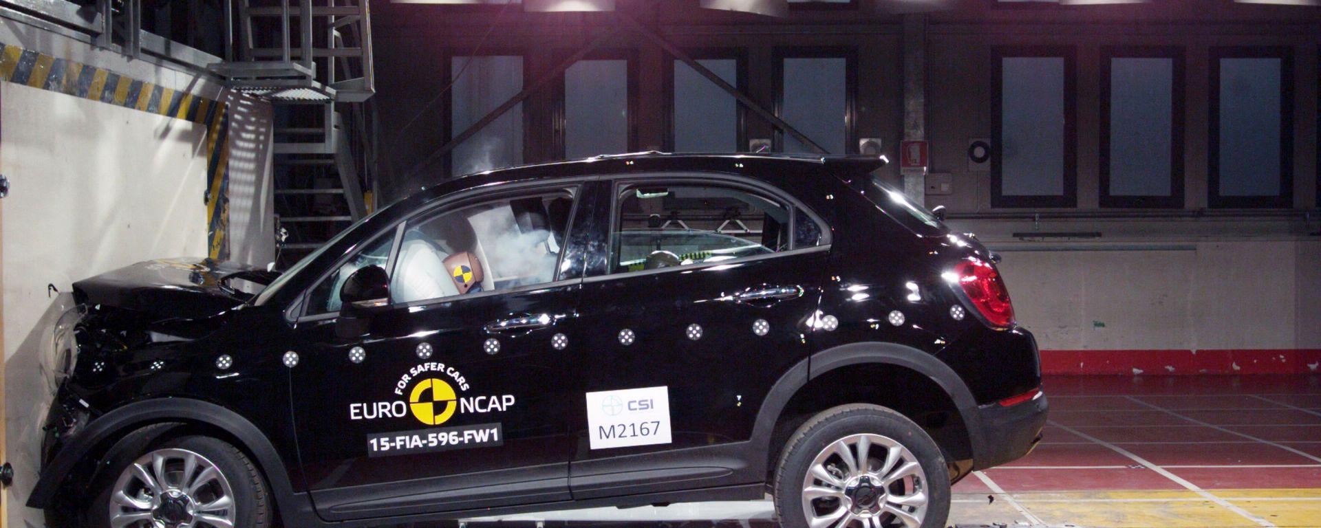 Euro NCAP: niente quinta stella per la 500X
