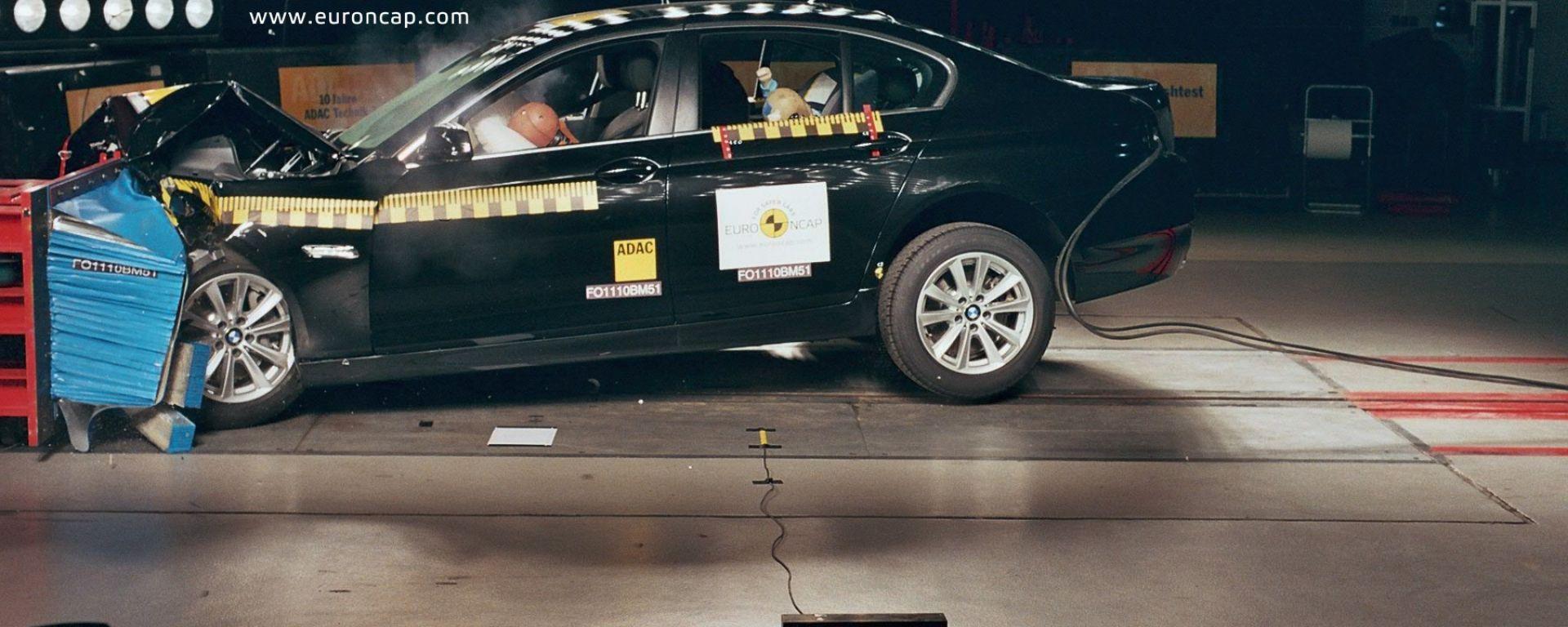 Euro NCAP: le cinque migliori del 2010
