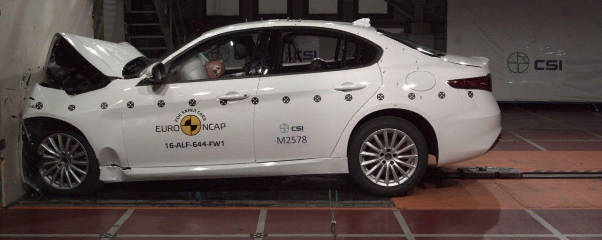 EuroNCAP 2016: i risultati di Alfa Giulia, Seat Ateca e VW Tiguan