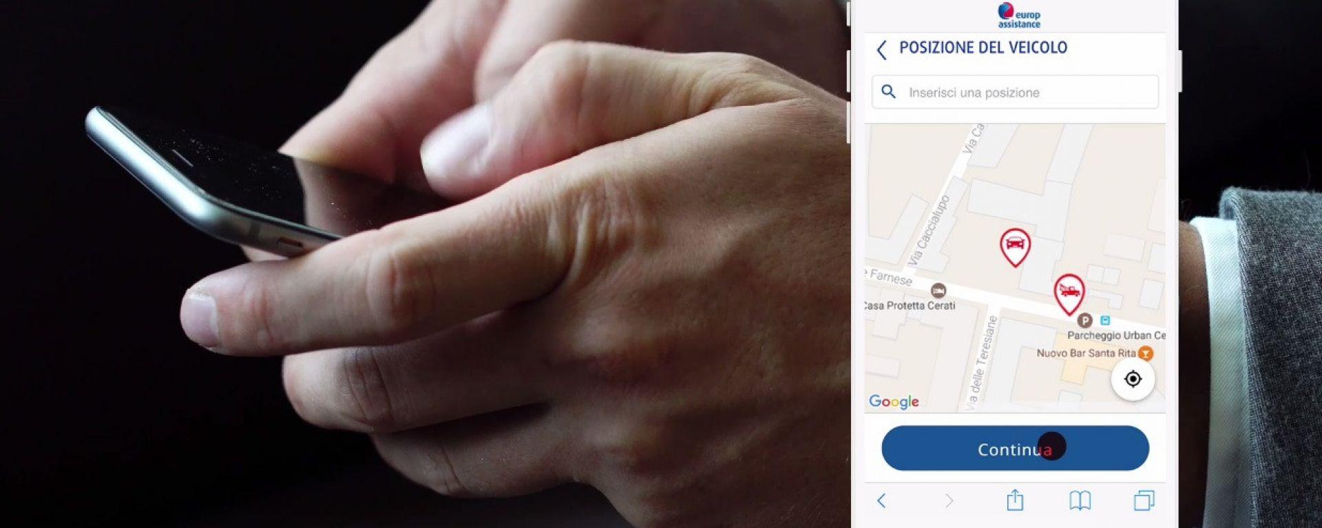 Europ Assistance, il soccorso stradale è digitale