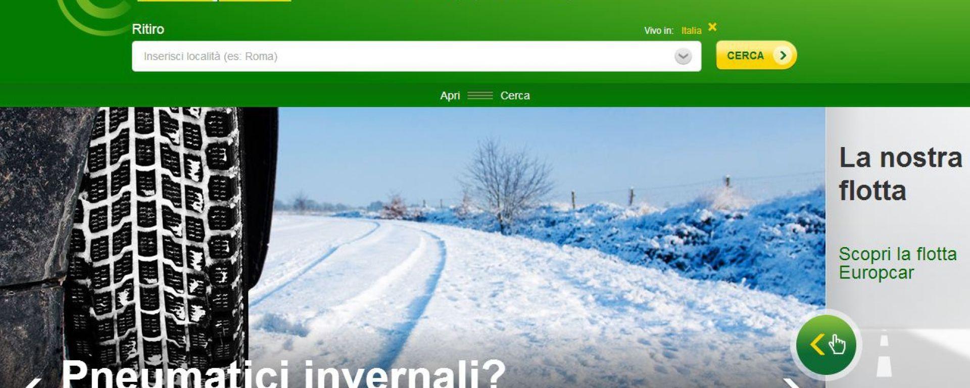 Europcar per l'inverno