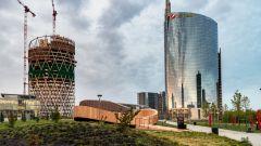 Evento a Milano per la presentazione di Audi Q4 e-tron