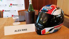 Evento Nolan a Milano, 13-02-2020: Alex Rins (Suzuki)