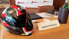 Evento Nolan a Milano, 13-02-2020: Danilo Petrucci (Ducati) casco