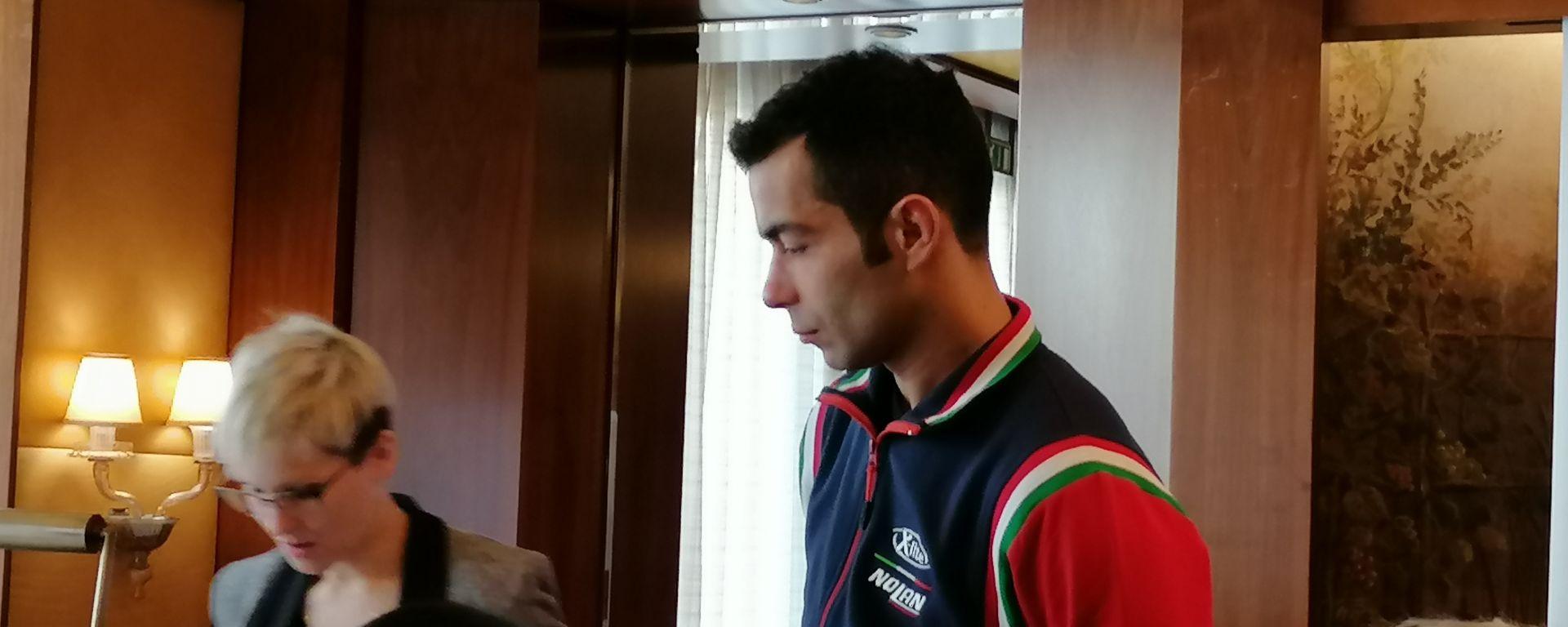 Evento Nolan a Milano, 13-02-2020: Danilo Petrucci (Ducati)