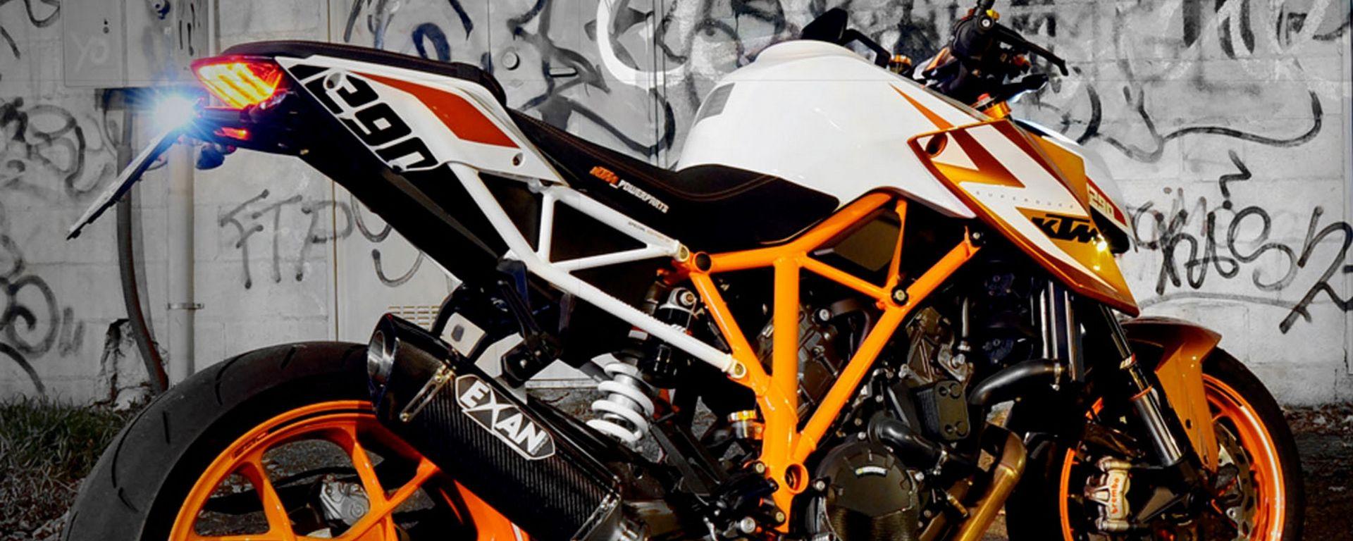 Exan ridisegna il lato B della KTM Super Duke 1290 R