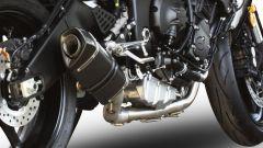 Exan: sistema di scarico completo X-BLACK Ovale per Yamaha YZF-R6