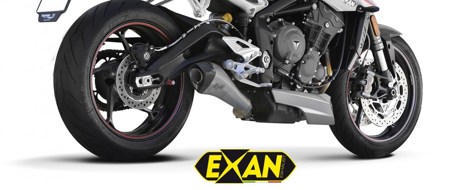 Exan X-Black EVO Inox Satinato Chiaro