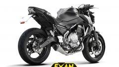 EXAN X-BLACK EVO per Kawasaki Z650