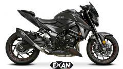 Exan X-Black Evo per Suzuki GSX-S 750