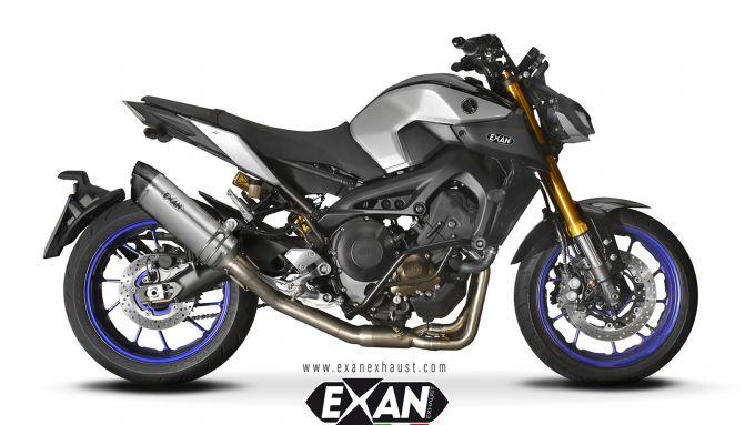 Exan X-Black in Titanio Ovale