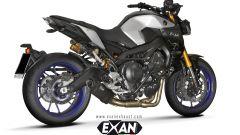 Exan X-Black Ovale Carbonio, basso