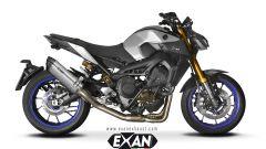 Exan X-Black Ovale in titanio
