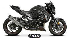 Exan X-Black per Suzuki GSX-S 750