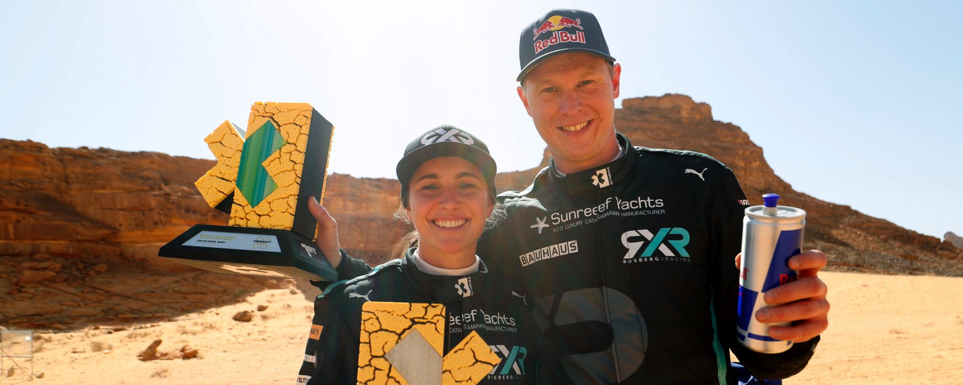 Extreme-E 2021: Johan Kristoffersson e Molly Taylor (Rosberg X Racing)