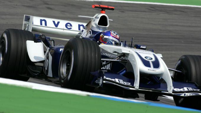 F1 2004: Juan Pablo Montoya al volante della Williams