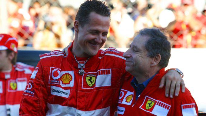 F1 2006: Michael Schumacher e Jean Todt (Ferrari)