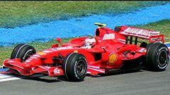 F1 2007, la Ferrari F2007 progettata da Aldo Costa, al volante Kimi Raikkonen