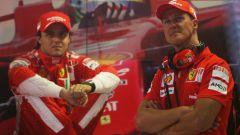 La scelta di Massa tra Schumacher e Alonso