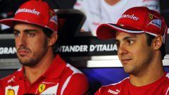 F1 2012: Fernando Alonso e Felipe Massa (Ferrari)