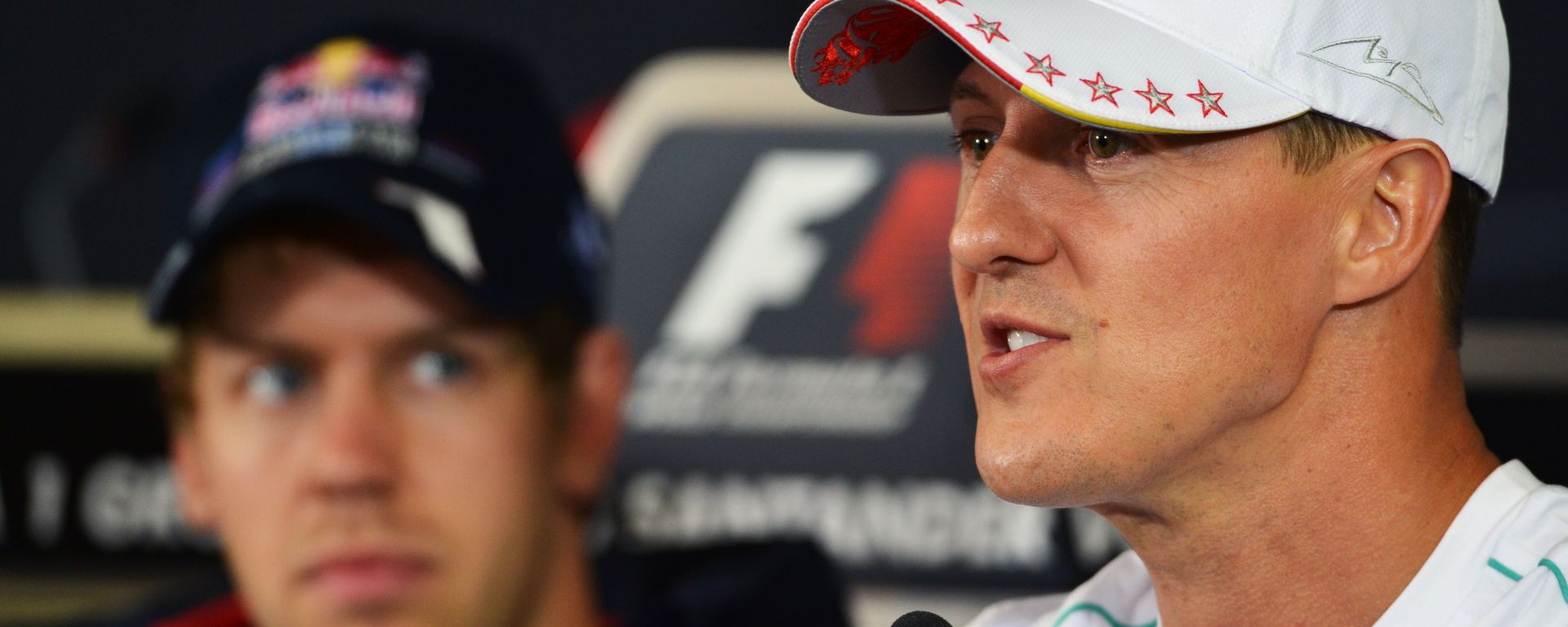 F1 2012: Sebastian Vettel e Michael Schumacher