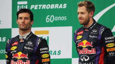 F1 2013: Mark Webber e Sebastian Vettel (Red Bull)