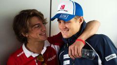 F1 2015: Roberto Merhi (Marussia) e Marcus Ericsson (Sauber)