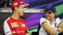 """Massa: """"L'uscita dalla Ferrari una motivazione extra per Vettel"""""""